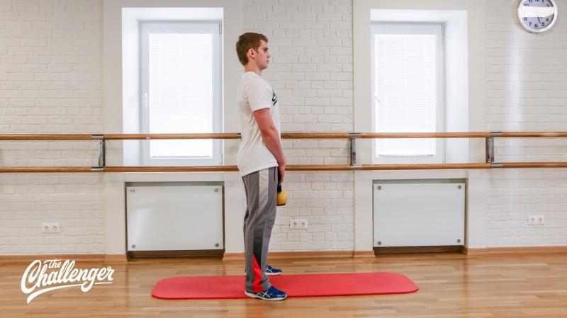 13 упражнений с гирями, которые отлично качают все мышцы. Изображение номер 3
