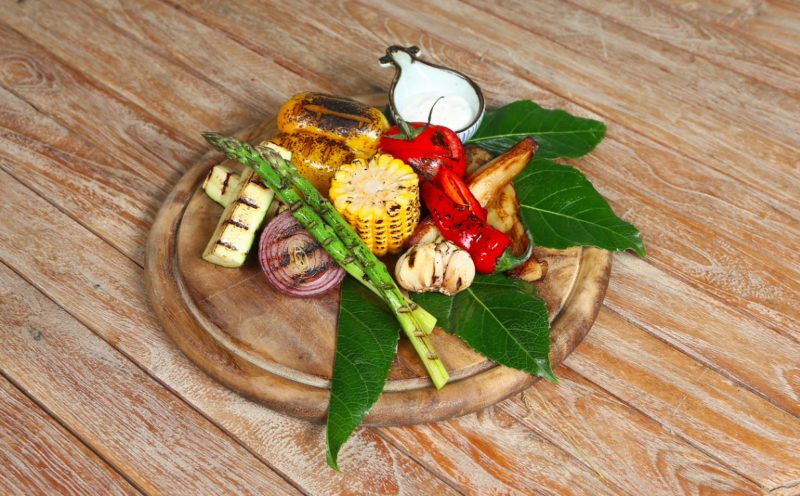 Изображение рецепта Овощи на гриле