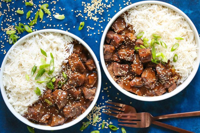 Изображение рецепта Боул с говядиной по-корейски