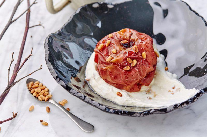 Изображение рецепта Печёное яблоко с мёдом