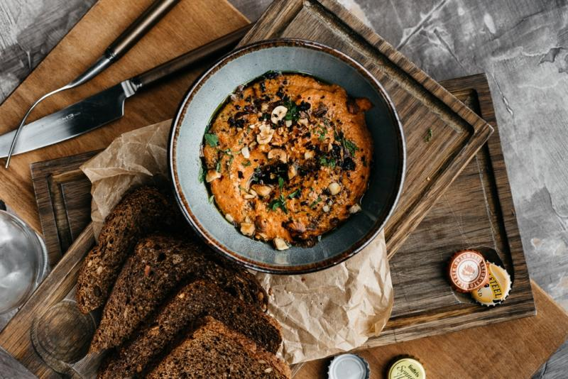 Изображение рецепта Паштет из запечённого болгарского перца