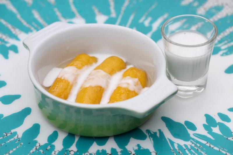 Изображение рецепта Бананы в сиропе