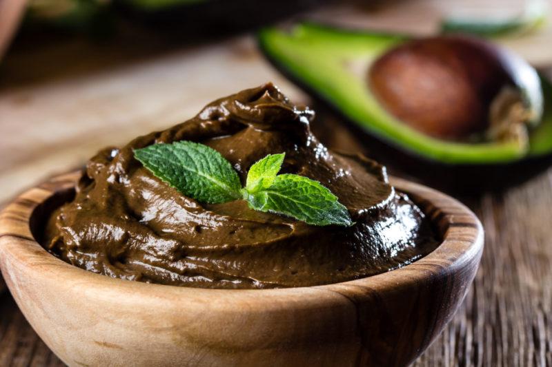 Изображение рецепта Шоколадный мусс с авокадо
