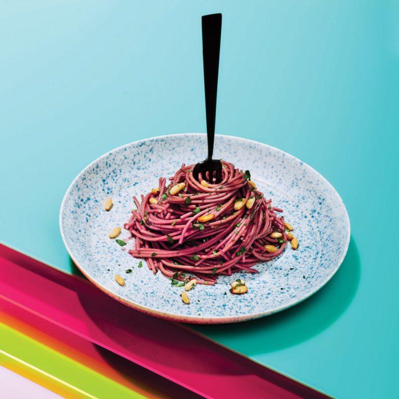 Изображение рецепта Розовые спагетти
