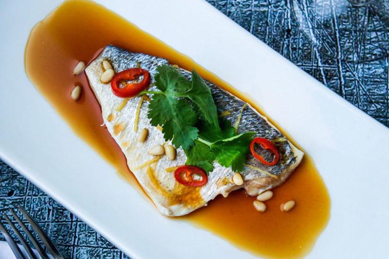 Изображение рецепта Филе дорадо в тайском стиле