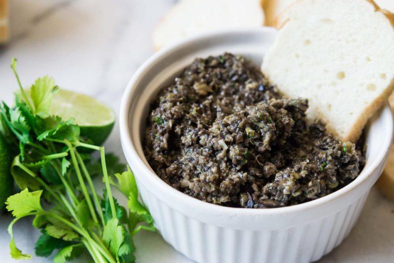 Изображение рецепта Зелёная тапенада