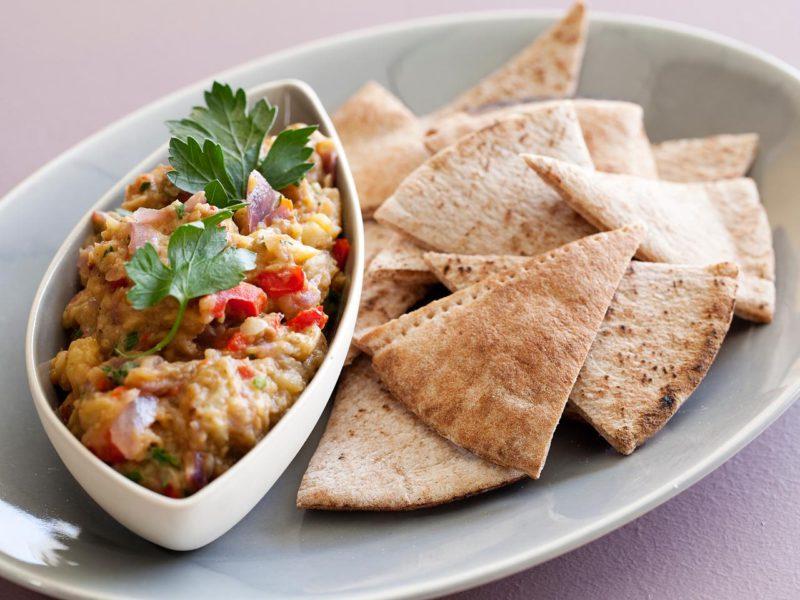 Изображение рецепта Пряный соус с баклажанами и карри