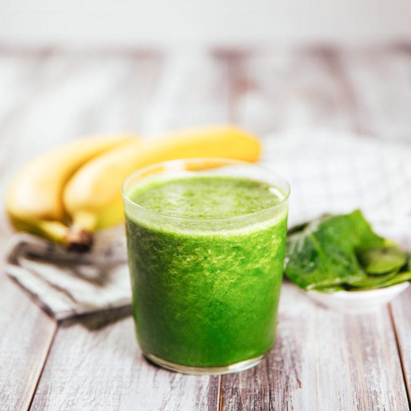Изображение рецепта Зелёный смузи