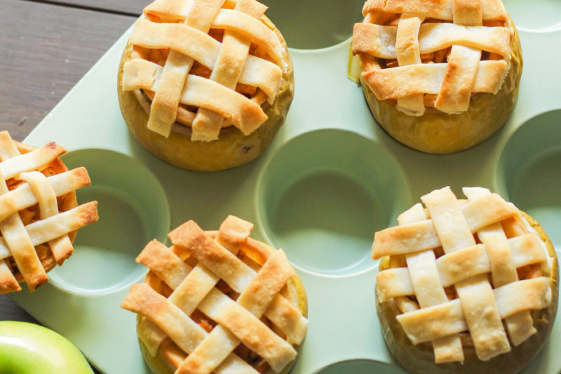 Изображение рецепта «Яблочный пирог» в яблоке