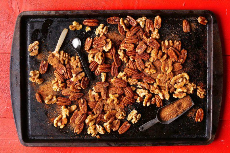 Изображение рецепта Пряные карамельные орешки