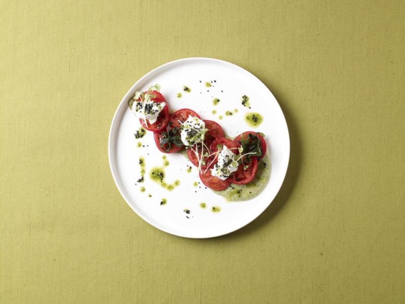 Изображение рецепта Карпаччо из помидоров