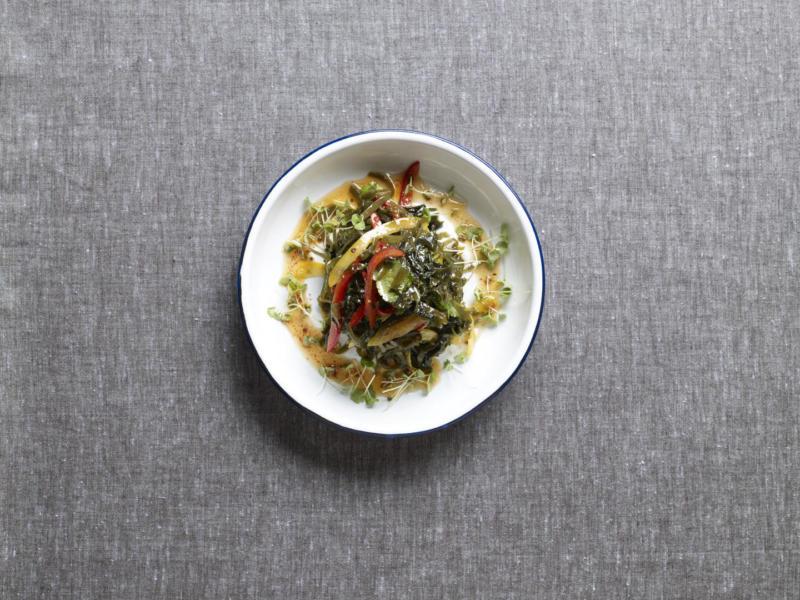 Изображение рецепта Салат с морской капустой
