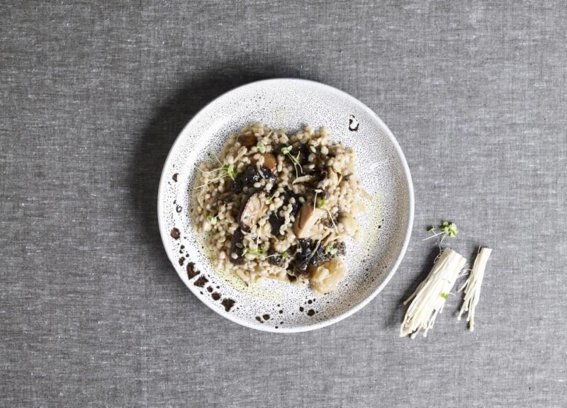 Изображение рецепта Перлотто с грибами