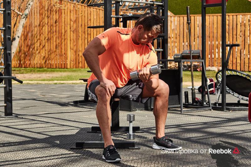 5 самых эффективных упражнений для трицепса и бицепса. Изображение номер 12