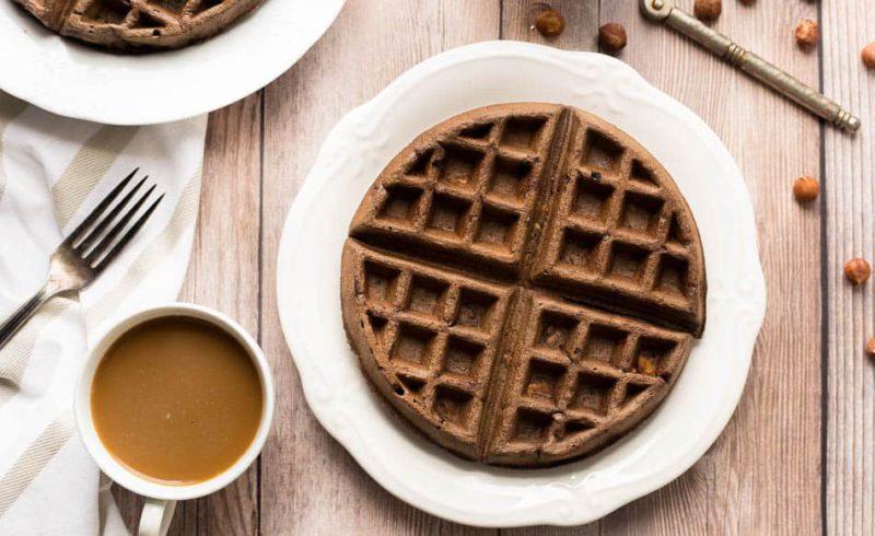 Изображение рецепта Шоколадные вафли