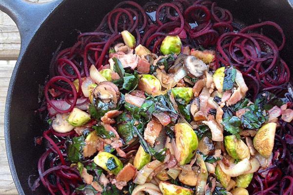 9 необычных рецептов овощной пасты. Изображение номер 7