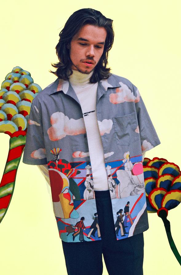 Бренд Stella McCartney выпустил кроссовки, посвящённые The Beatles. Изображение номер 5