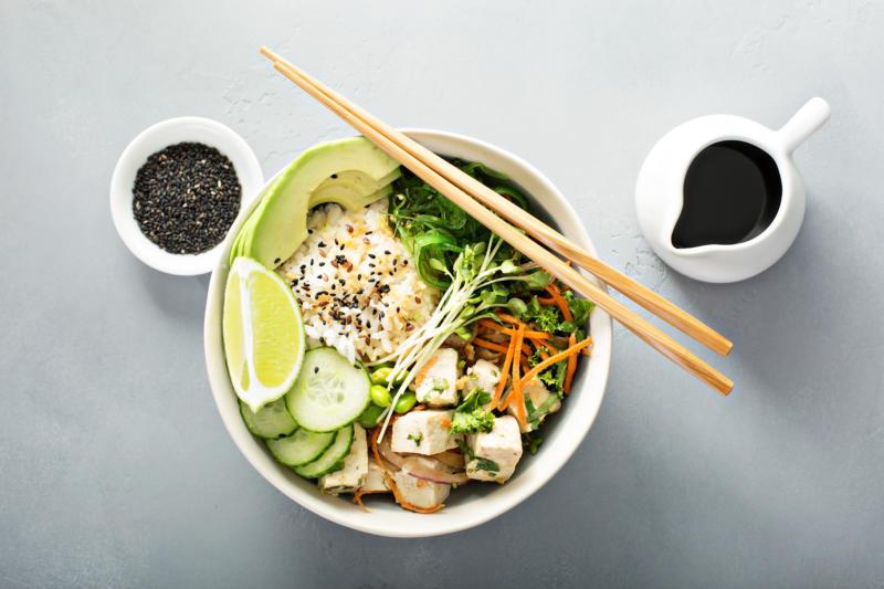 Изображение рецепта Поке с тофу