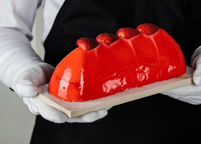 Изображение рецепта Десерт с клубничным муссом
