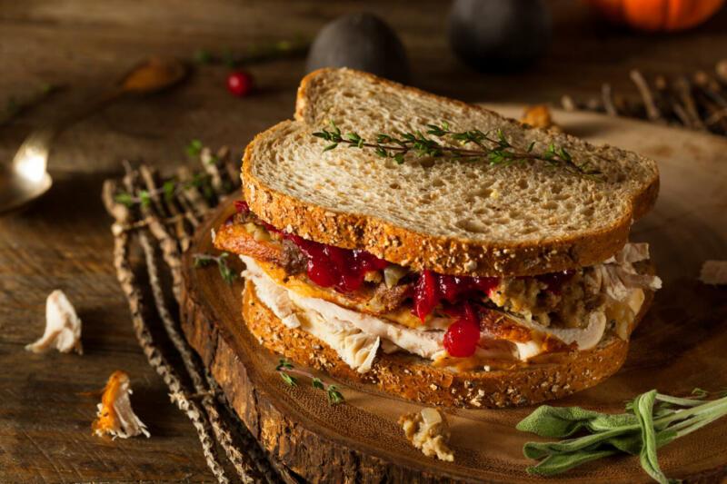 Изображение рецепта Сэндвичи с индейкой