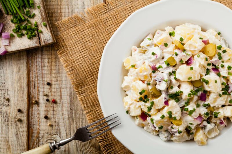Изображение рецепта Картофельный салат
