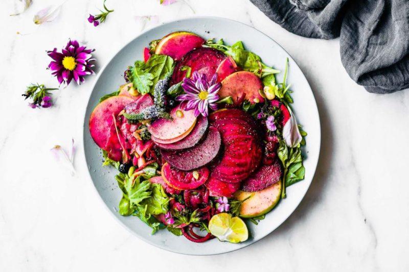 Изображение рецепта Салат со свёклой и яблоком