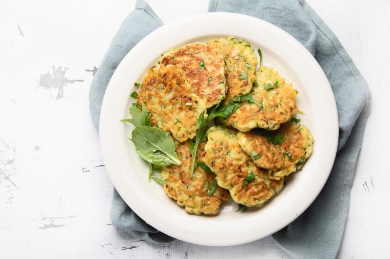 Изображение рецепта Драники из овощного микса
