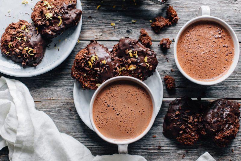 Изображение рецепта Апельсиновое печенье с шоколадом