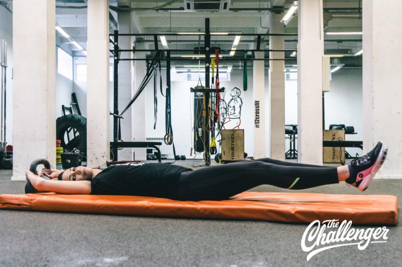 Июльский челлендж: 15-минутная тренировка для плоского живота. Изображение номер 1