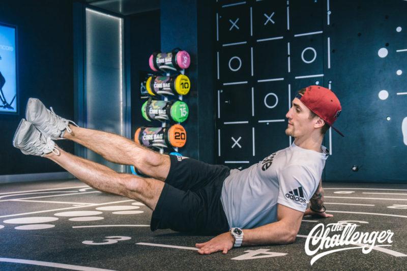 Июльский челлендж: 3 упражнения, которые помогут вам увидеть свой пресс. Изображение номер 9