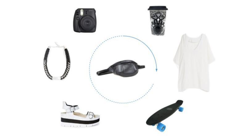Как и с чем носить поясную сумку. Изображение номер 11
