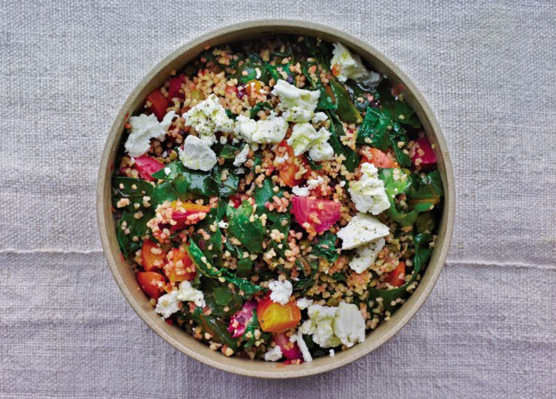 Изображение рецепта Салат с булгуром