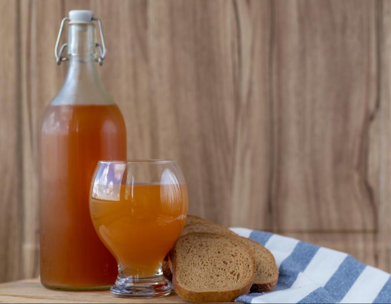 Изображение рецепта Квас из ржаного солода