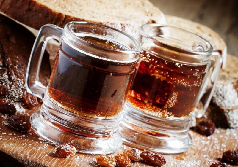 Изображение рецепта Домашний квас из ржаного хлеба