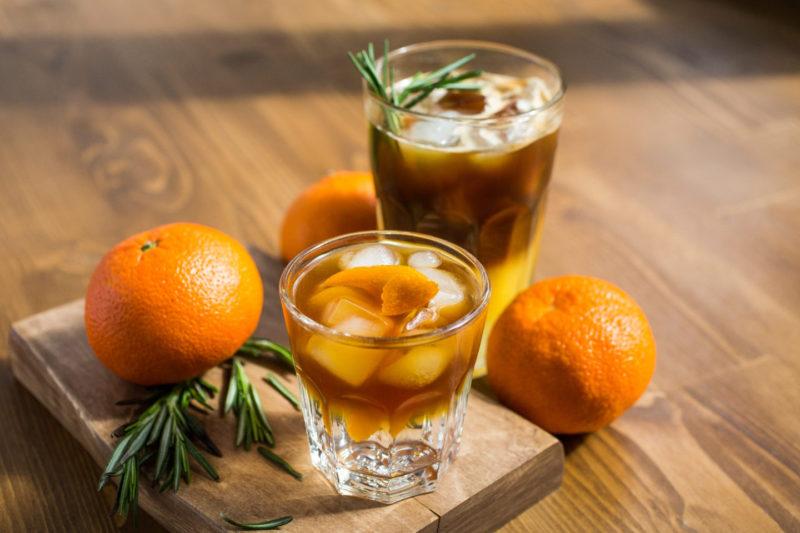 Изображение рецепта Апельсиновый эспрессо-тоник
