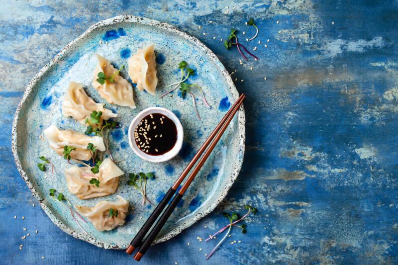 Изображение рецепта Острые пельмени с креветками