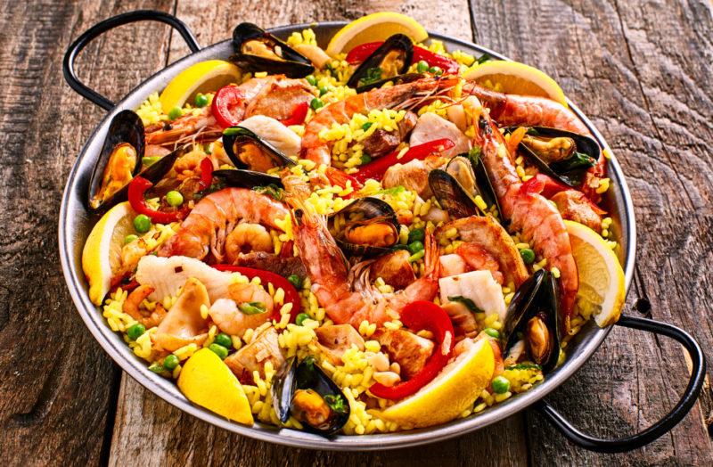 Изображение рецепта Классическая паэлья с морепродуктами