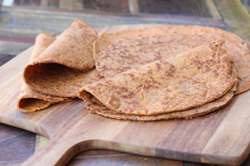 Изображение рецепта Тортильи из льняной муки