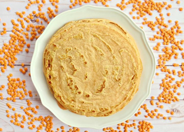 Изображение рецепта Тортильи из чечевицы