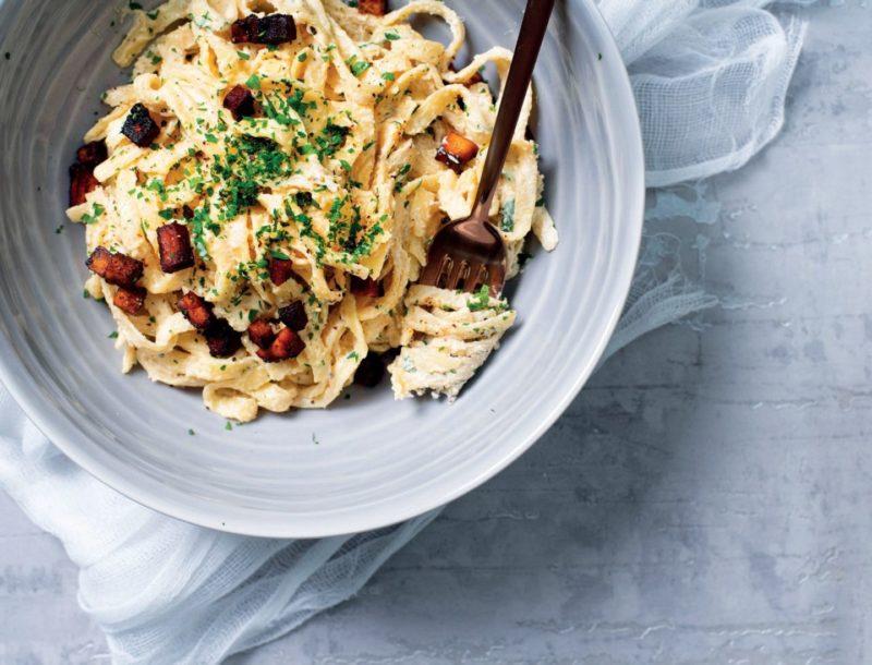 Изображение рецепта Веганская паста карбонара