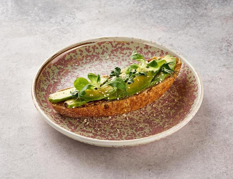 Изображение рецепта Авокадо-тост с арахисовым кремом