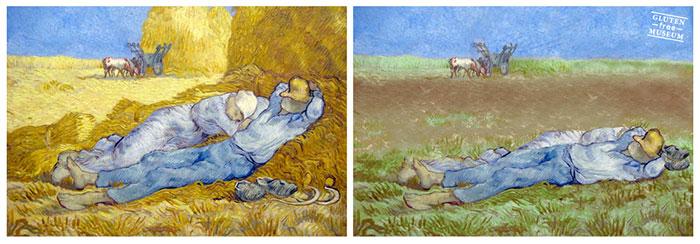 Как выглядели бы произведения искусства без глютена. Изображение номер 7