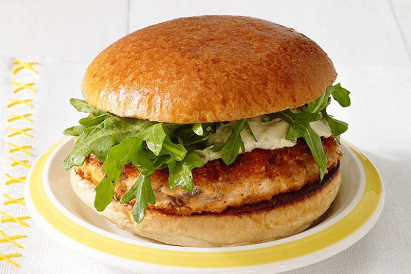 Изображение рецепта Средиземноморский бургер