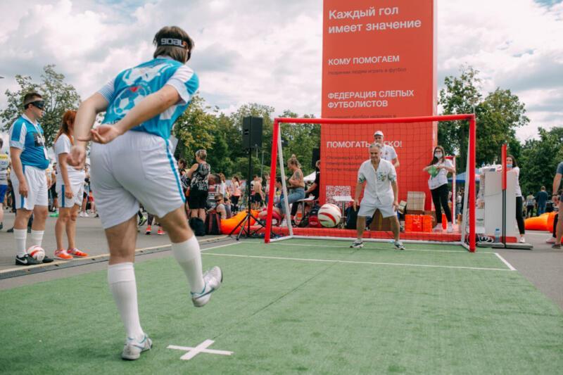 Поле возможностей: как незрячие спортсмены играют в футбол в России. Изображение номер 1