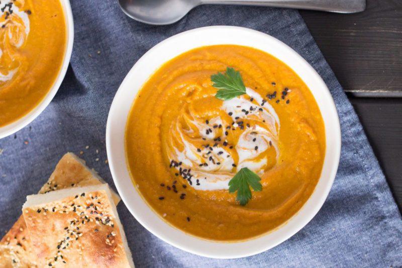 Изображение рецепта Морковный суп с чечевицей
