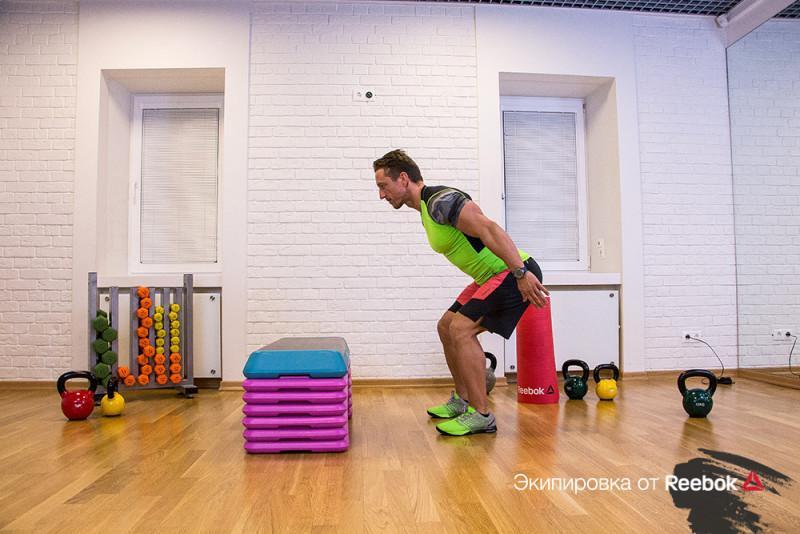 Прыжковая тренировка для сильных ног. Изображение номер 16