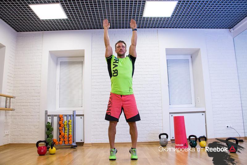 Прыжковая тренировка для сильных ног. Изображение номер 4