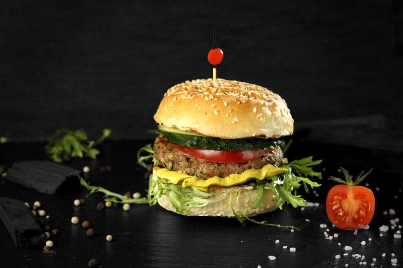 Изображение рецепта Бургер с гречневой котлетой