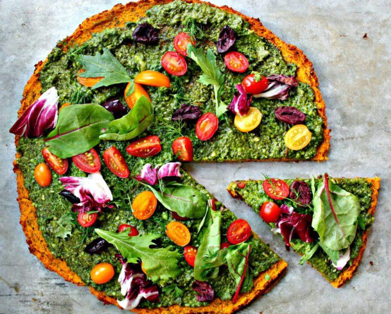Изображение рецепта Низкоуглеводная пицца с тыквой