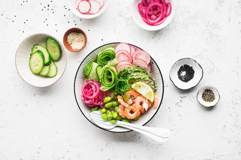 Изображение рецепта Поке с креветками
